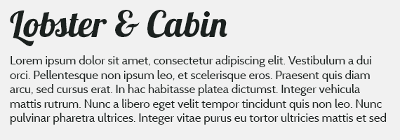 Lobster&cabin